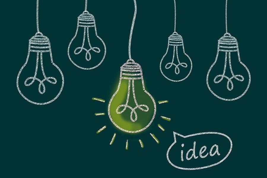 アイディアのイメージ写真