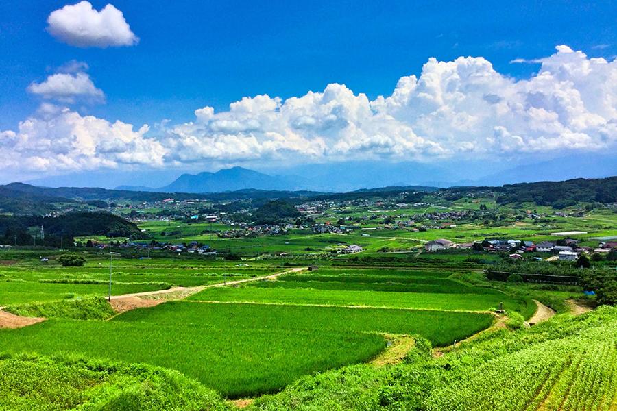 田舎のイメージ写真