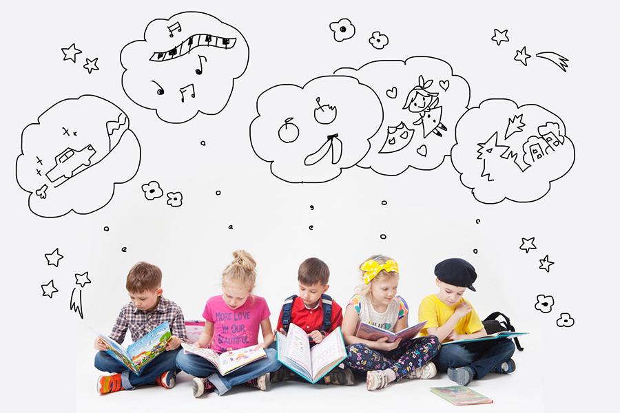 子どもたちの想像力のイメージ写真