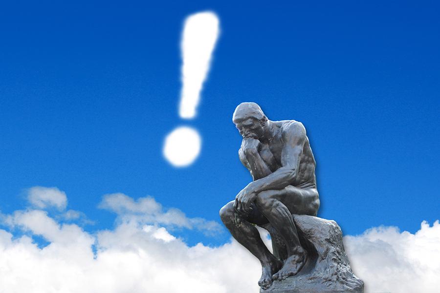 考える人のイメージ画