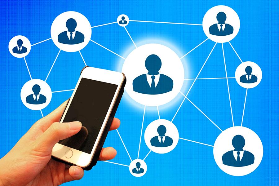 Facebookによるネットワークのイメージ画像