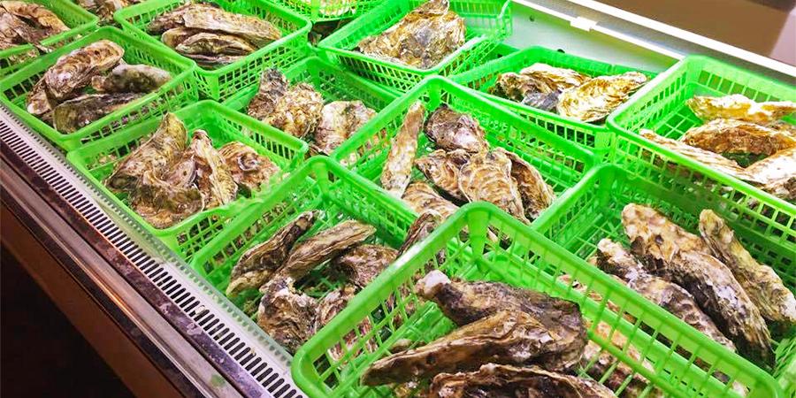 出張カキ小屋『牡蠣奉行』で使われている東北の牡蠣
